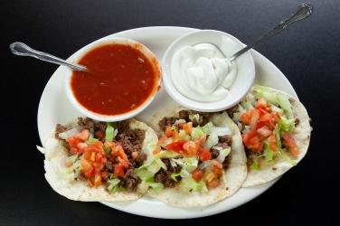 3 Soft Tacos